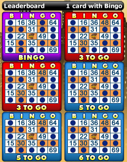 playing bingo cafe 75 ball bingo game