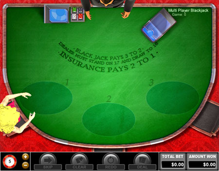 bingo cafe multi-player blackjack online casino game