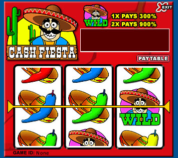 bingo cafe cash fiesta 3 reel online slots game